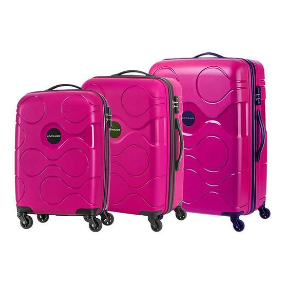 KAMILIANT กระเป๋าเดินทาง รุ่น MAPUNA 3P SET B(SP55/67/77 T) สี DARK MAGENTA