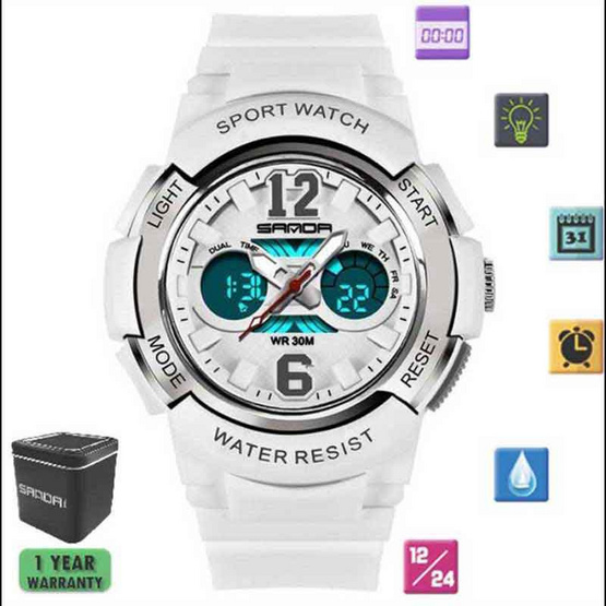SANDAWATCH นาฬิกาข้อมือผู้ชาย รุ่น SW757