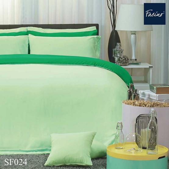 Facino ชุดผ้าปูที่นอน+ผ้านวม 6 ฟุต 5 ชิ้น SF024