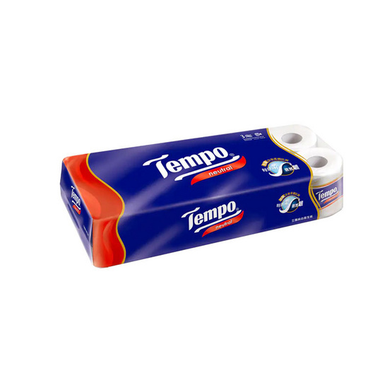 Tempo เทมโพ กระดาษชำระ เนเชอรัล (10ม้วน)