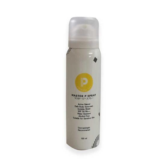 Precious You สเปรย์กันแดด Master P Spray Natural Body SPF50 PA+++ 100 มล.