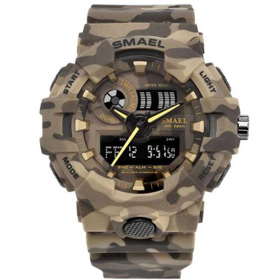 SMAEL นาฬิกาข้อมือ แพคคู่ รุ่น SM8001+SM1632
