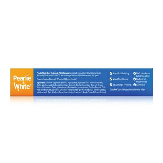 Pearlie White Enamel Safe Kids Toothpaste