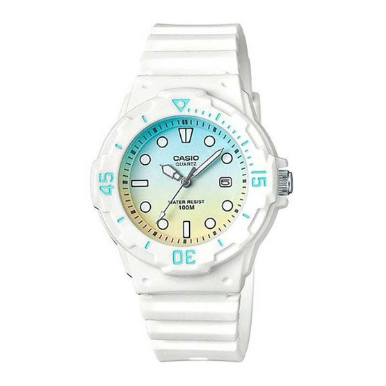 Casio นาฬิกาข้อมือผู้หญิง รุ่น LRW200H-2E2VDF