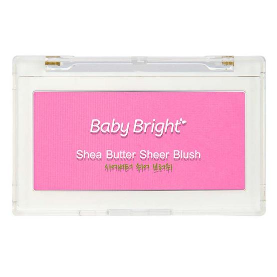 Baby Bright บลัชออน Shea Butter Sheer Blush 8 กรัม
