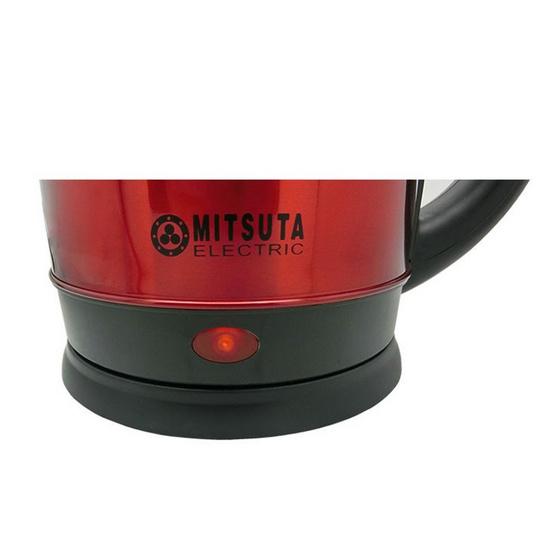 MITSUTA กาต้มน้ำไฟฟ้า 1.8 ลิตร รุ่น MEK181 (สีแดง)