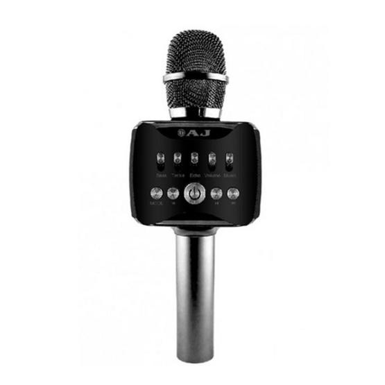 AJ ไมโครโฟนไร้สาย รุ่น PM-002 Wirless Microphone Karaoke