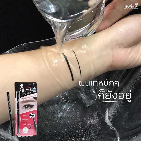 Nami อายไลเนอร์ Double Eyeliner สีดำ