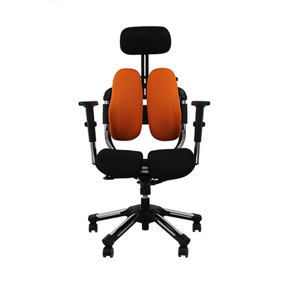 HARA CHAIR เก้าอี้สุขภาพ รุ่น วีไทม์  สีส้ม
