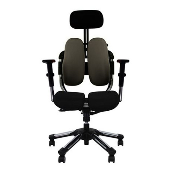 HARA CHAIR เก้าอี้สุขภาพ รุ่น วีไทม์  สีเทา