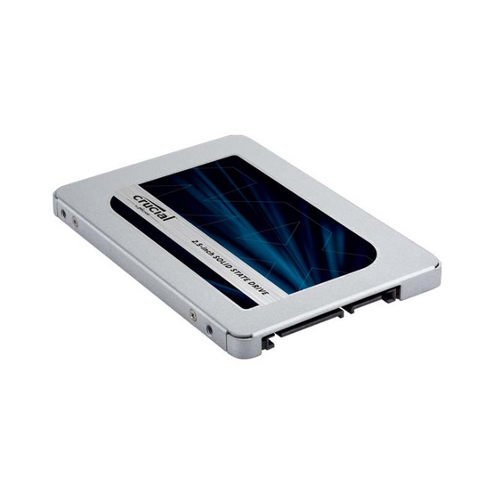 """Crucial SSD MX500 SATA 7mm (with 9.5mm adapter) Internal 2.5"""" 2 TB"""