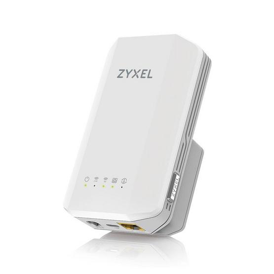Zyxel อุปกรณ์ขยายสัญญาณ รุ่น WRE6606 AC1300 MU-MIMO Dual-Band Wireless Range Extender