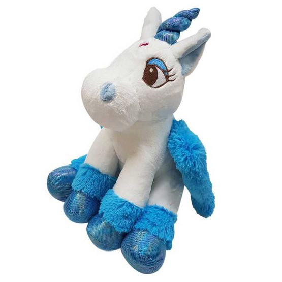 Unicorn ตุ๊กตาม้ายูนิคอร์น สีฟ้า 8 นิ้ว