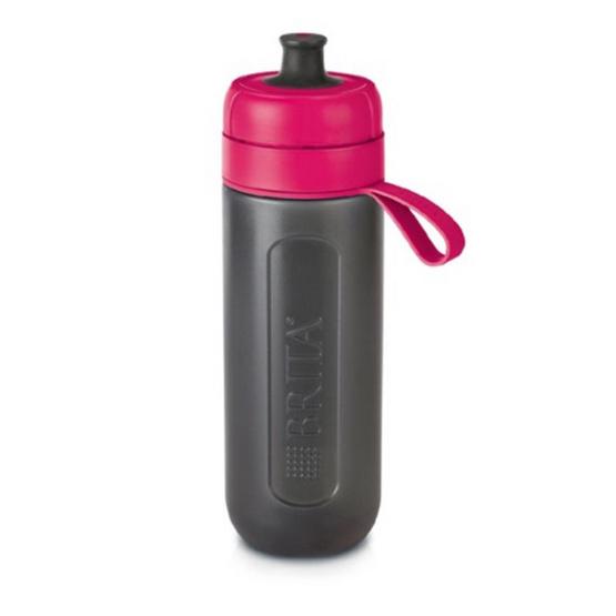 BRITA ขวดกรองน้ำดื่ม  Fill & Go (สีชมพู)