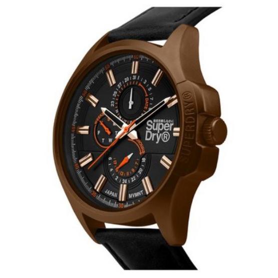 Superdry นาฬิกาผู้ชาย Marshal SYG258BBRG