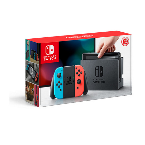 Nintendo Switch (Neon Blue / Neon Red) (HK)