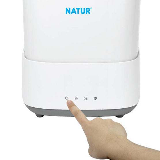 NATUR เครื่องนึ่งขวดนมไฟฟ้าพร้อมอบแห้ง รุ่น SD-5