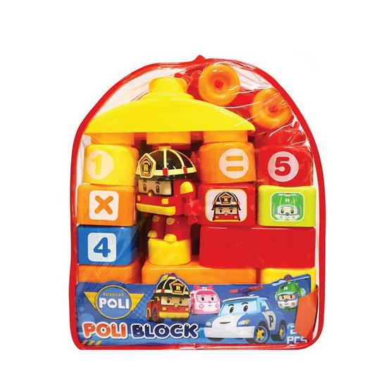 Robocar Poli กระเป๋าตัวต่อ คละสี คละแบบ