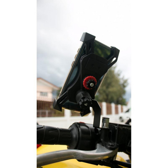 Gizmo แท่นยึดโทรศัพท์ติดรถจักรยานยนต์ รุ่น GH-022
