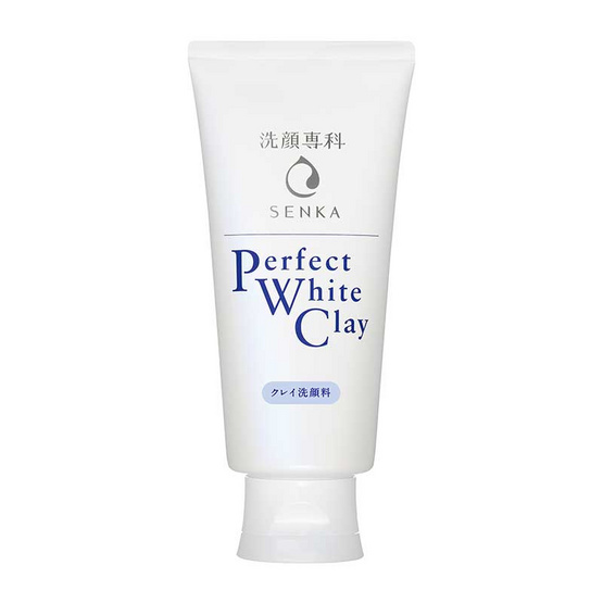 Senka โฟมล้างหน้า Perfect White Clay 120 กรัม