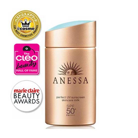 Anessa ครีมกันแดด Perfect UV Sunscreen Milk 60 มล.