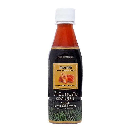 มุมิน น้ำอินทผลัม 100% รสดั้งเดิม และ รสมะนาว แพ็ค 12