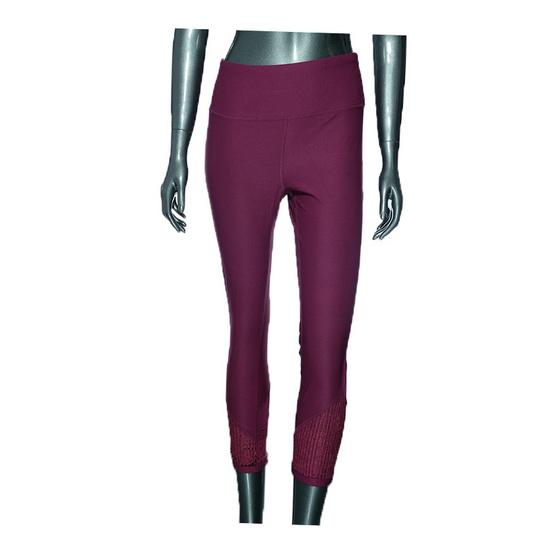 กางเกงโยคะ สีม่วง
