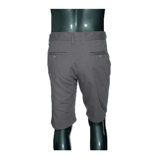 กางเกงขาสั้นสีพื้น(เทา)