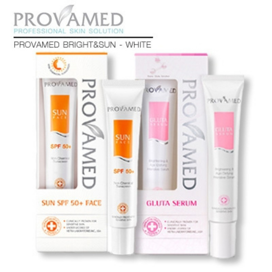 Provamed Bright&Sun - White