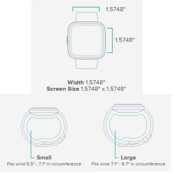 Fitbit สมาร์ทวอทช์ รุ่น Versa 2 (NFC)