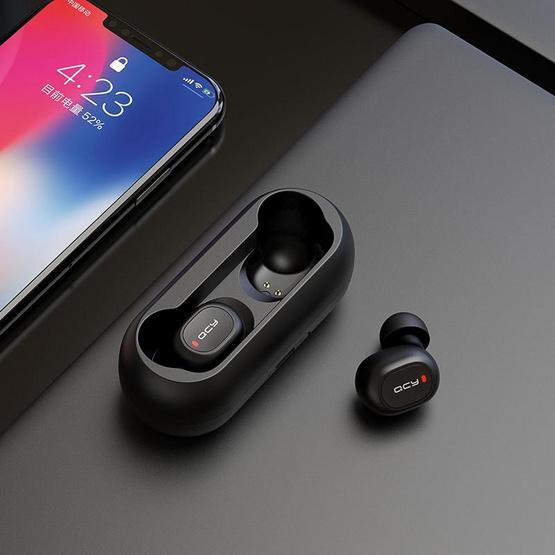 QCY หูฟังบลูทูธแบบ True Wireless รุ่น T1