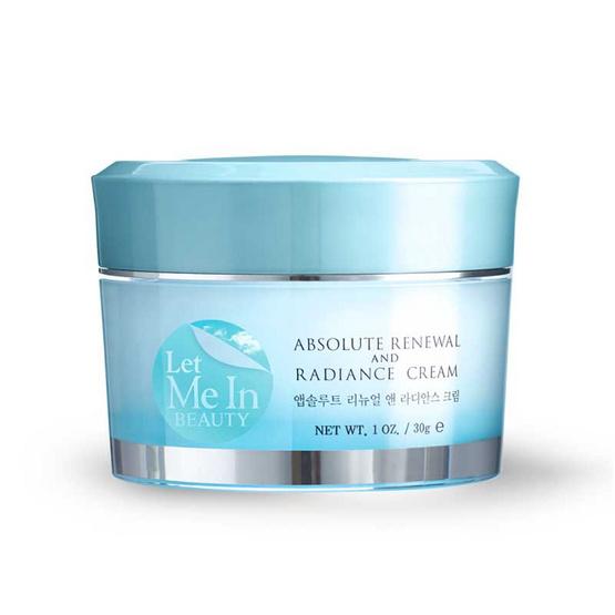 Let Me In Beauty ครีม Radiance Cream 30 มล.