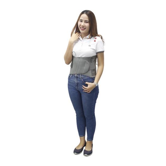 Anny สเตย์พยุงหลัง NO.288 สีเทาเข้ม Free Size