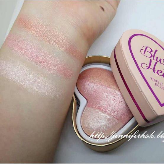 Makeup Revolution บลัชออน (I Heart)