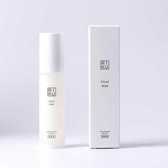 RIKU ไวท์เทนนิ่งเซรั่มน้ำนม First Milk Whitening Serum 30 มล.
