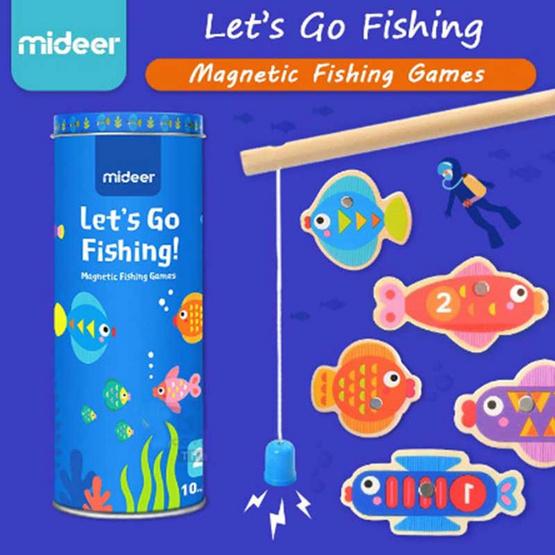 Mideer เกมส์ตกปลาแม่เหล็ก