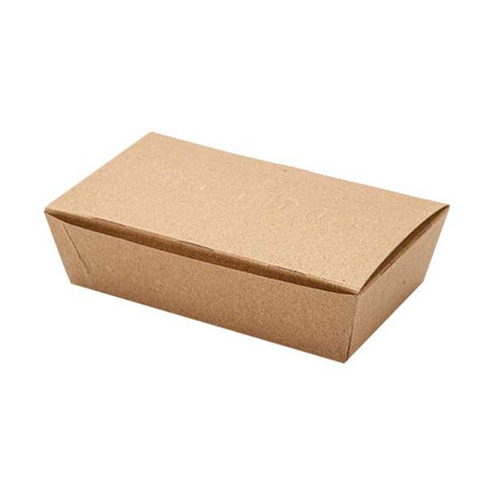 Food Box กล่องบรรจุอาหาร 750ml. 50ชิ้น x 1แพ็ค (code 001)