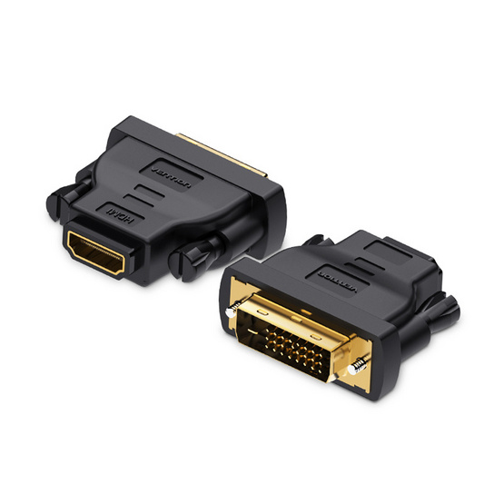 Vention หัวแปลง DVI Male To HDMI Female Adapter