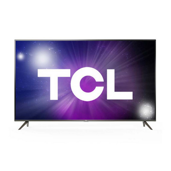 TCL TV UHD LED 50 นิ้ว 4K Android รุ่น 50P8