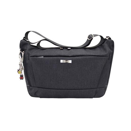 Huskies กระเป๋าสะพายแฟชั่น รุ่น HK02-755 BL สีดำ