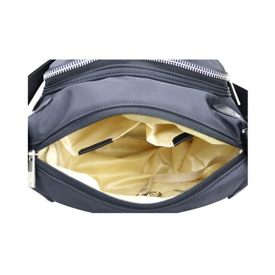 Huskies กระเป๋าสะพายแฟชั่น รุ่น HK02-760 BL สีดำ