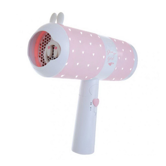JYE ไดร์เป่าผมพกพา รุ่น Popk 1000W #Sweetie Pink (A5260)
