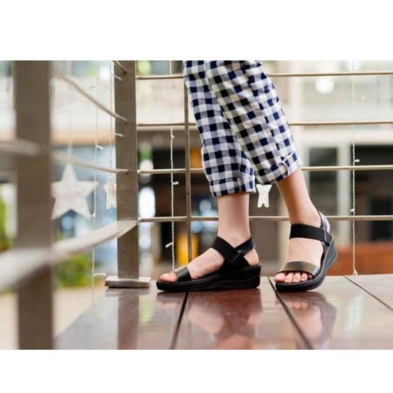 ActYoung Cocoro รองเท้ารัดส้นเพื่อสุขภาพ รุ่น Black Strap Size M