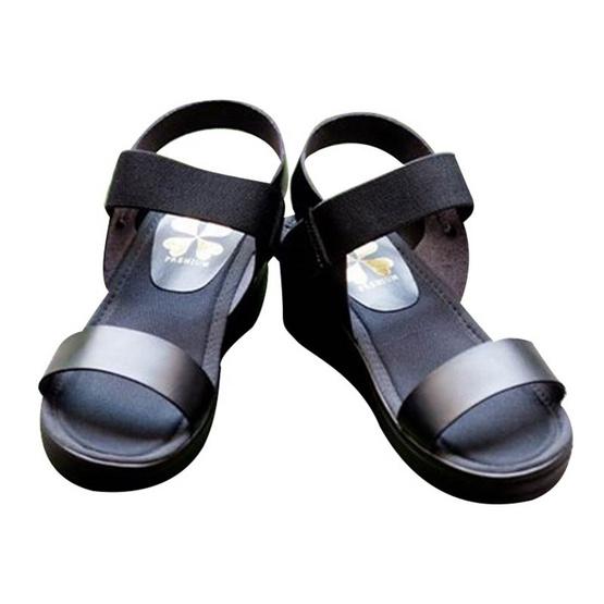 ActYoung Cocoro รองเท้ารัดส้นเพื่อสุขภาพ รุ่น Black Strap Size LL