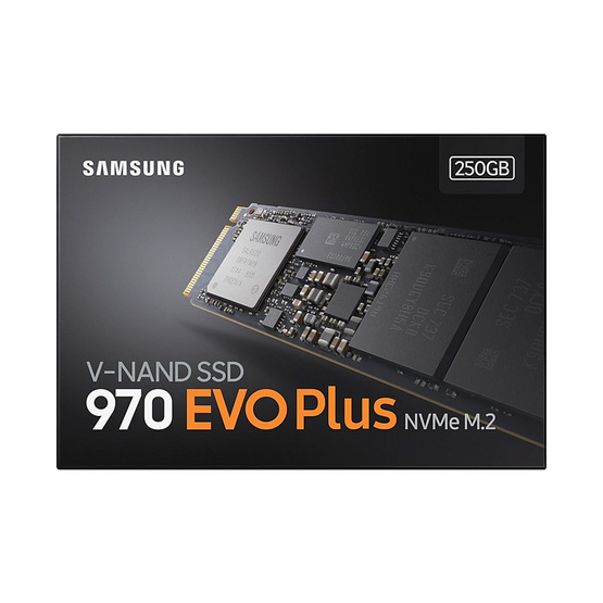 Samsung SSD รุ่น 970 EVO PLUS M.2 PCIe 250GB