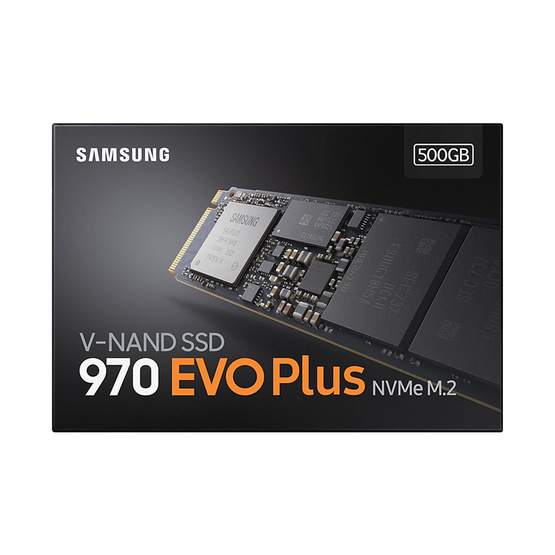 Samsung SSD รุ่น 970 EVO PLUS M.2 PCIe 500GB