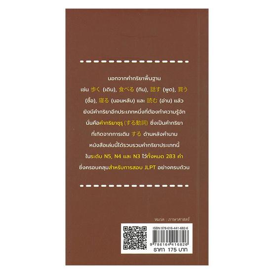คำกริยาซุรุ สำหรับ JLPT ระดับ N5-N4-N3