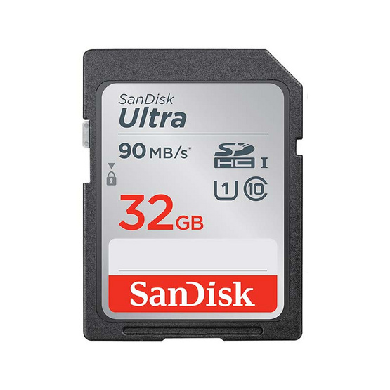 SanDisk เมมโมรี่ SD Card Ultra 32 GB