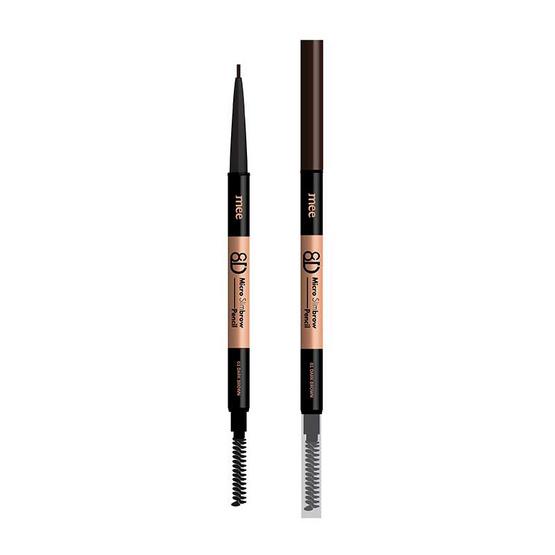 Mee ดินสอเขียนคิ้ว 8D Micro Slimbrow Pencil 0.05 กรัม