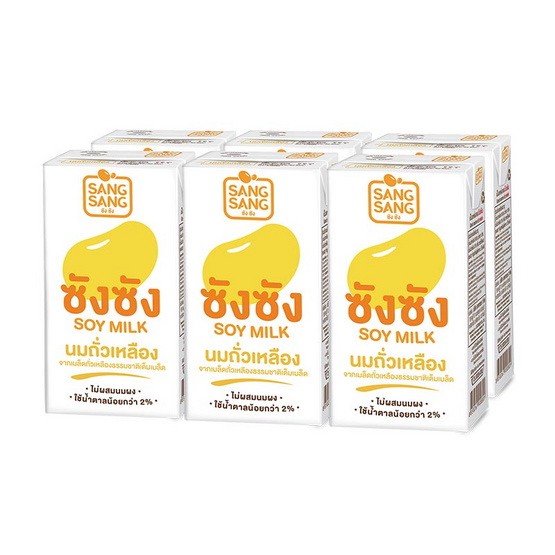 ซังซังนมถั่วเหลืองUHT 300 มล. (ยกลัง 36 กล่อง)